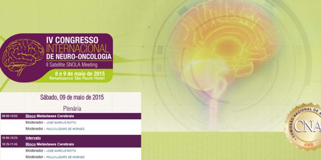 IV Congresso Internacional de Neuro-Oncologia