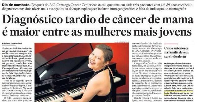 Câncer de mama em jovens