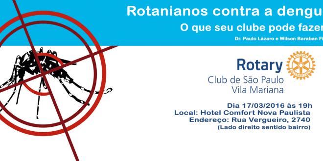 Rotarianos contra a Dengue